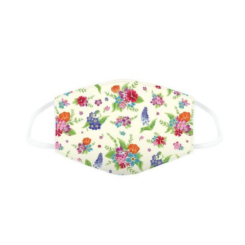 Botanical Floral Reusable Adult Face Covering Washable 2 Layer Soft Mask